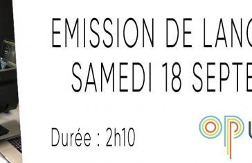 Emission de lancement
